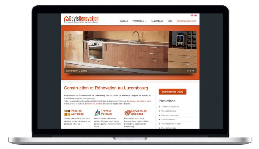 Web Design Renovation Company